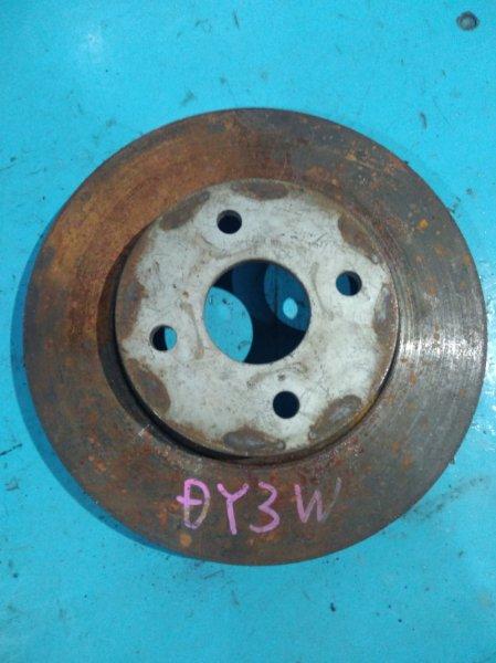 Тормозной диск Mazda Demio DY3W ZJ передний
