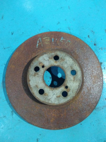 Тормозной диск Toyota Vista Ardeo AZV50 1AZFSE 2000 передний