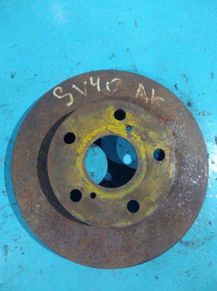 Тормозной диск Toyota Vista SV40 3S-FE передний