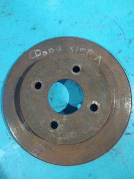 Тормозной диск Ford Sierra 1990г задний