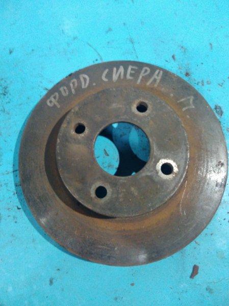 Тормозной диск Ford Sierra 1990г передний