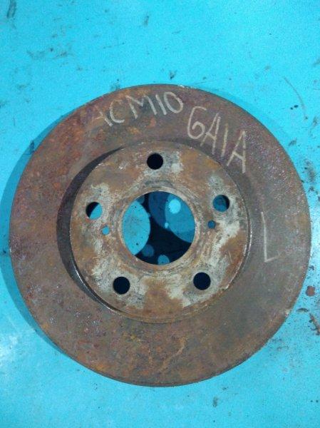 Тормозной диск Toyota Gaia ACM10 1AZ-FSE 2002г передний