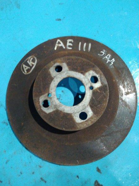 Тормозной диск Toyota Carib AE111 4A-GE задний