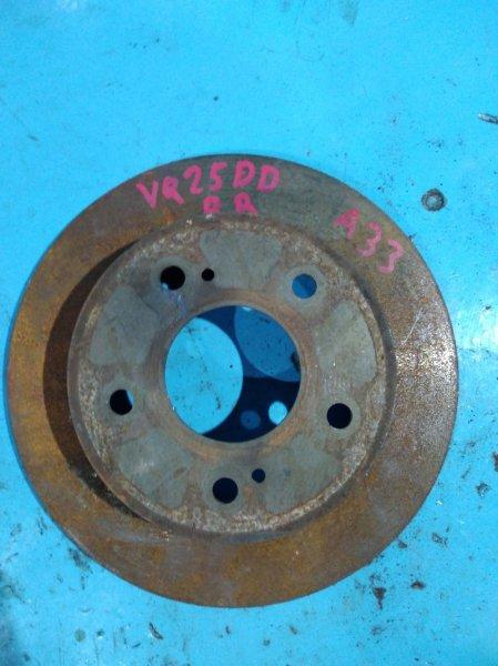 Тормозной диск Nissan Cefiro A33 VQ25-DD задний