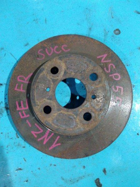 Тормозной диск Toyota Succeed NCP55 1NZ-FE передний