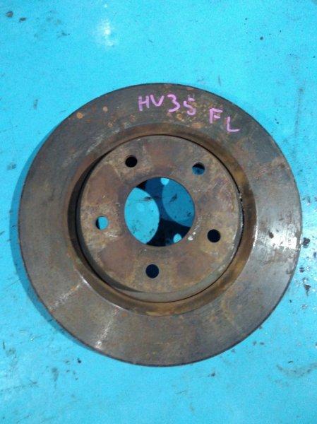 Тормозной диск Nissan Skyline V35 VQ25DD 2001 передний