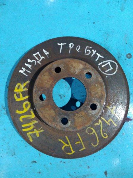 Тормозной диск Mazda Trebute EPFW AJ передний
