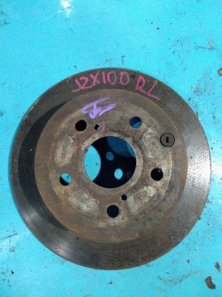 Тормозной диск Toyota Mark Ii JZX100 1JZ-GE задний