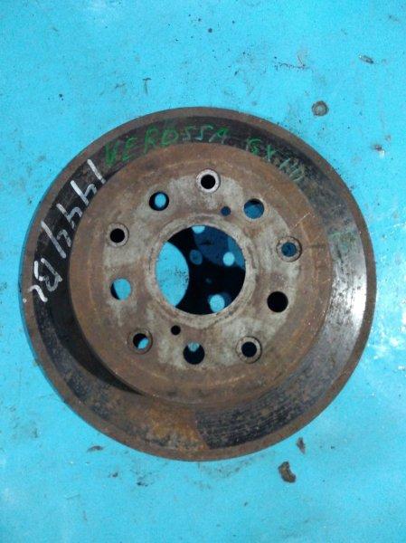 Тормозной диск Toyota Verossa GX110 1G-FE 2002 задний
