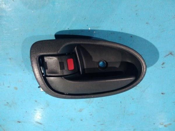 Ручка двери внутренняя Toyota Vitz SCP90 2SZ-FE 2005 задняя левая