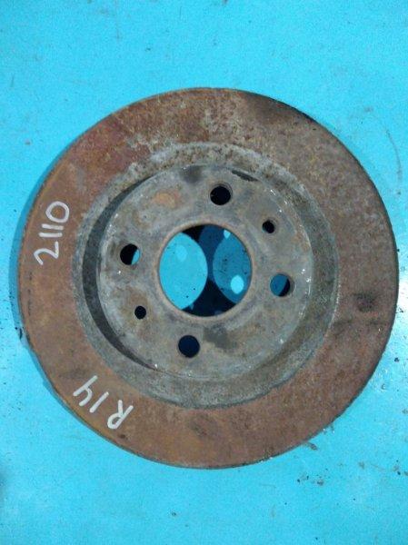 Тормозной диск Лада 2110 2110 21124 2005г передний