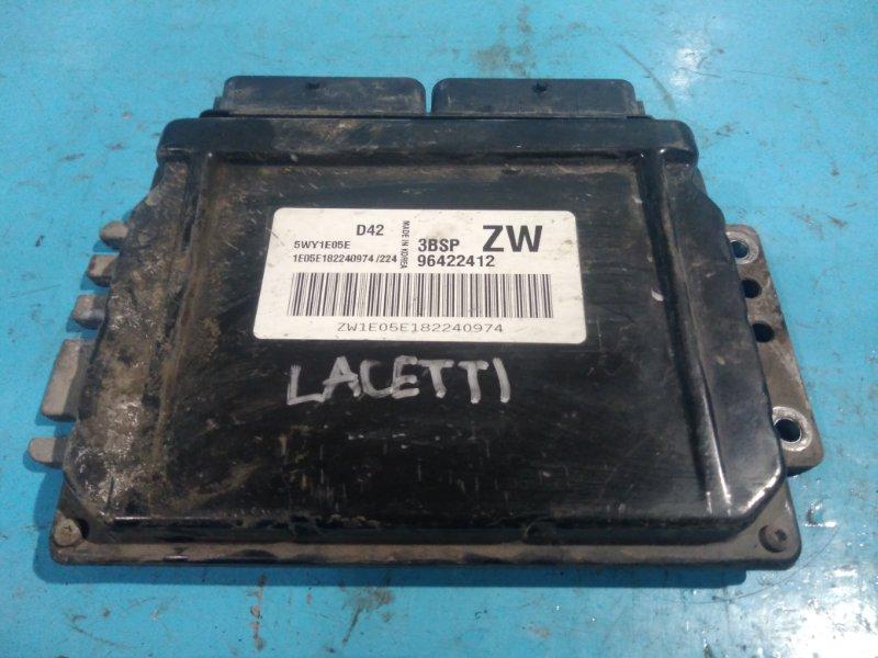 Блок управления efi Chevrolet Lacetti J200 F16D3 2008г