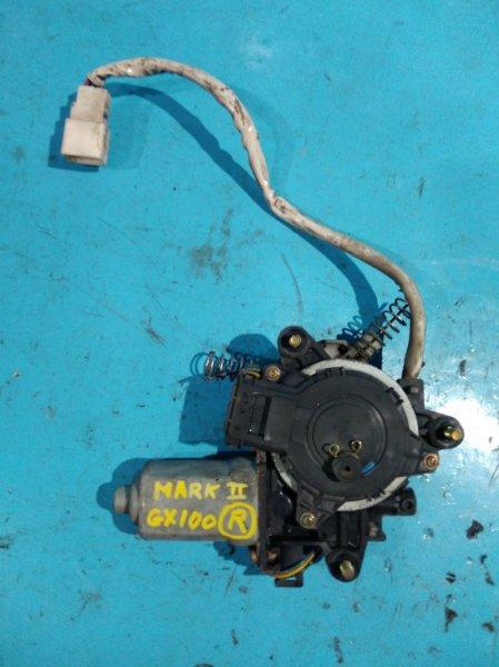 Мотор стеклоподъемника Toyota Mark Ii GX100 1G-FE передний правый