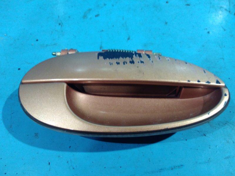 Ручка двери внешняя Daewoo Matiz 2010г задняя правая