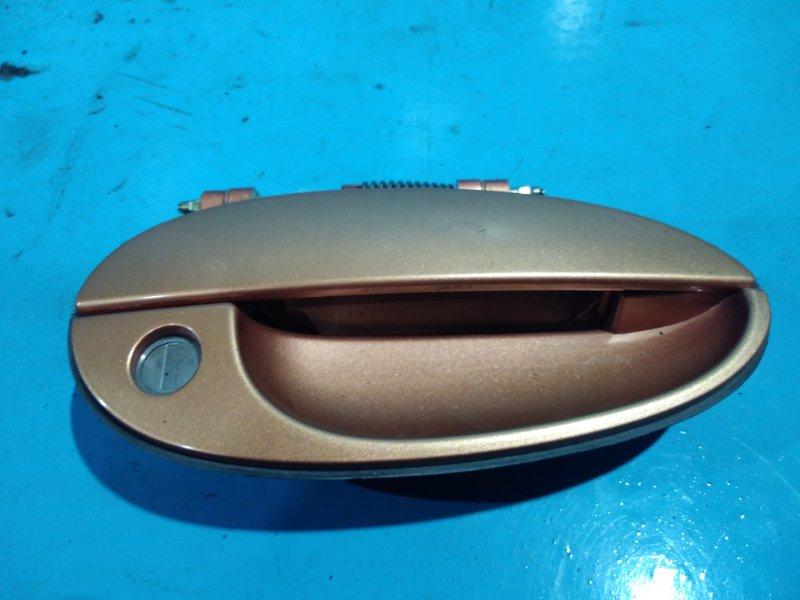 Ручка двери внешняя Daewoo Matiz 2010г передняя правая