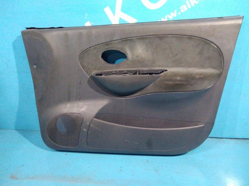 Обшивка дверей Daewoo Matiz 2010г передняя правая