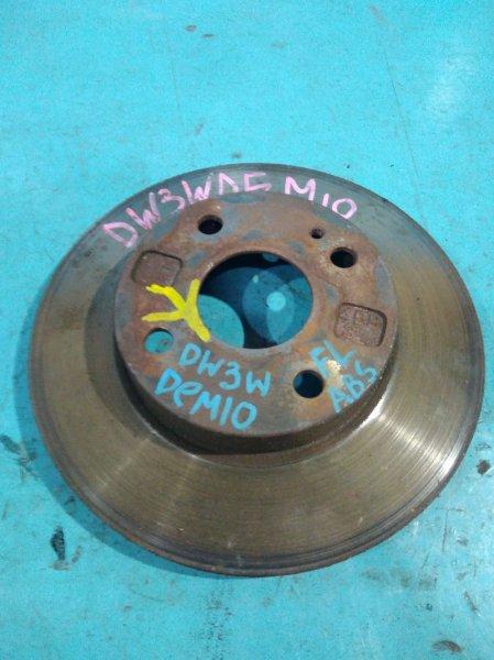 Тормозной диск Mazda Demio DW3W B3DE передний