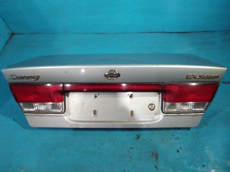 Крышка багажника Nissan Sunny FB15 QG15DE 2000г
