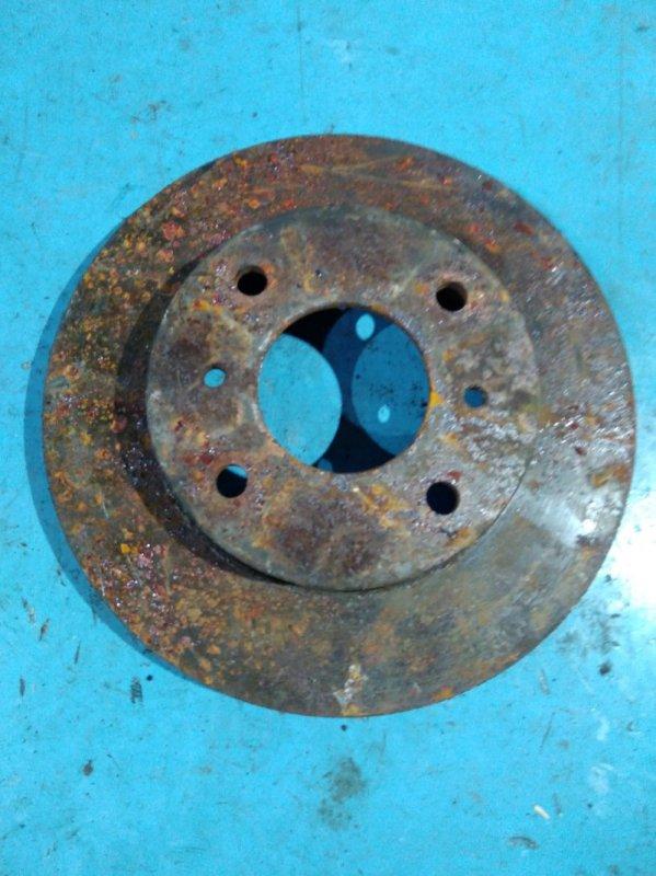 Тормозной диск Nissan Bluebird EU14 SR18-DE передний