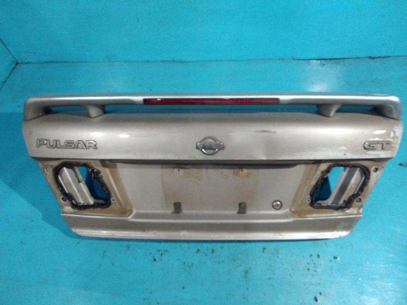 Крышка багажника Nissan Pulsar FN15 GA15-DE 1998г