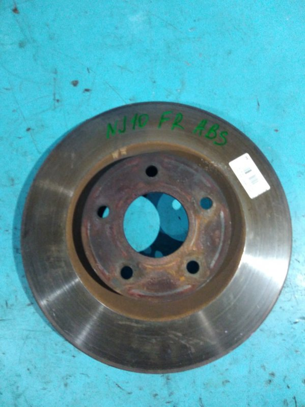 Тормозной диск Nissan Qashqai J10 MR20-DE передний