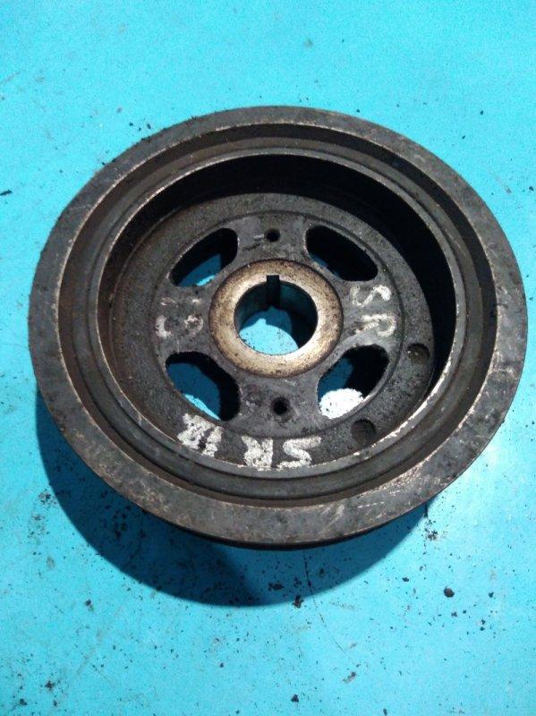 Шкив коленвала Nissan Bluebird U14 SR18-DE 1997г