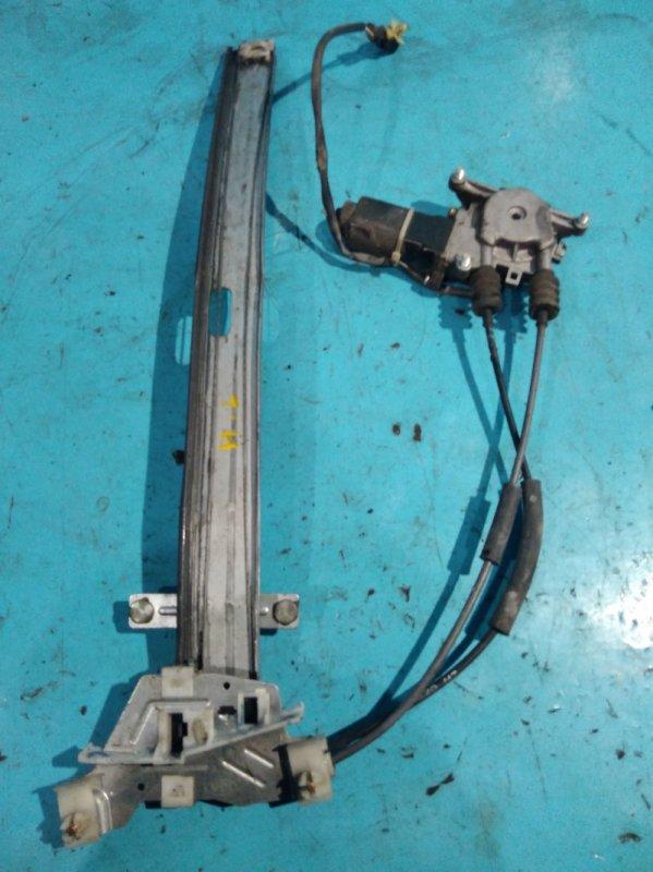 Стеклоподъемник Kia Sportage JA FE 2000г передний левый