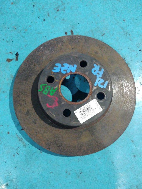Тормозной диск Toyota Allex NZE121 1NZ-FE передний