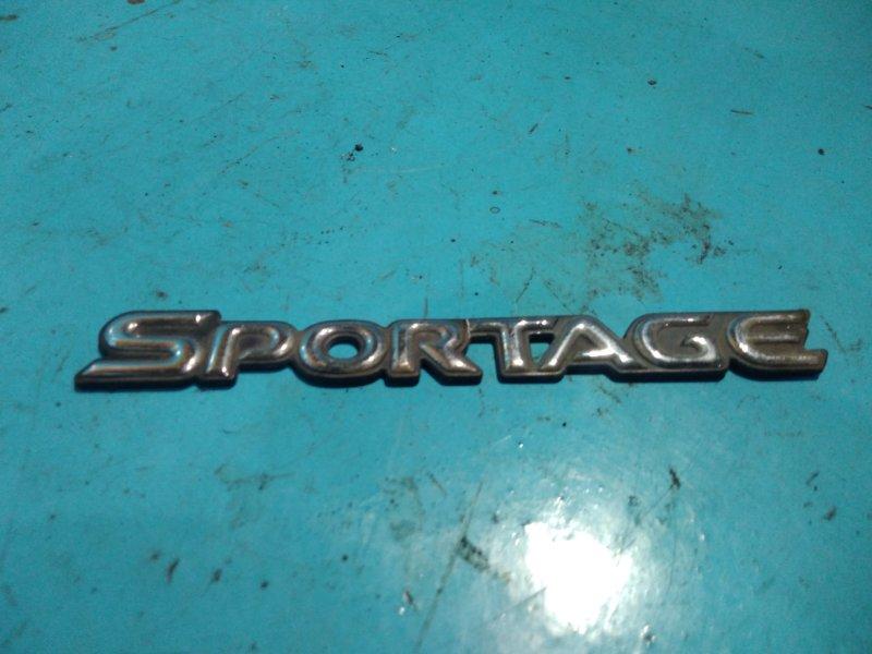 Эмблема Kia Sportage JA FE 2000г