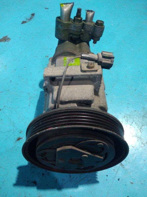 Компрессор кондиционера Nissan March AK12 CR12-DE 2002г