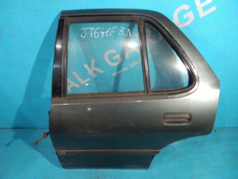 Дверь Isuzu Gemini JT641F 4EE1-T 1991г задняя левая