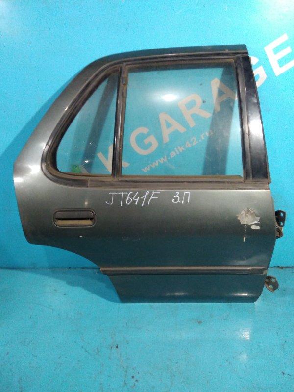Дверь Isuzu Gemini JT641F 4EE1-T 1991г задняя правая