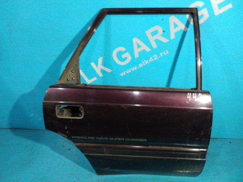 Дверь Mazda Capella Cargo GVFW RF 1994 задняя правая