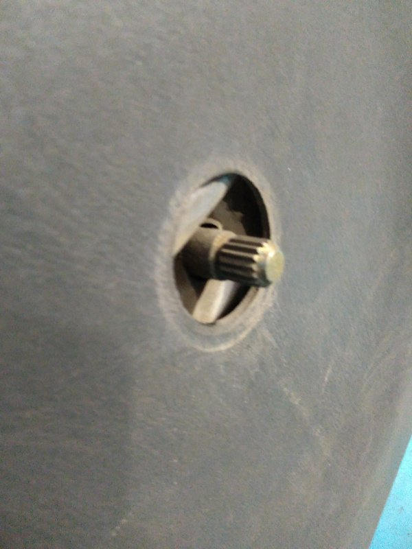 Стеклоподъемник Nissan Ad VEY11 YD22 задний правый