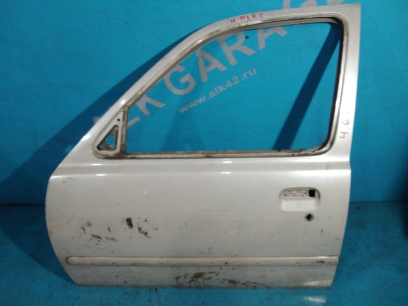 Дверь Nissan March K11 CG10-DE 1998г передняя левая