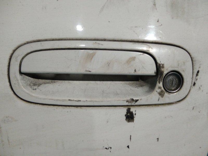 Ручка двери внешняя Toyota Corolla AE110 5A-FE передняя левая
