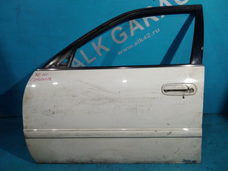 Дверь Toyota Corolla AE110 5A-FE передняя левая