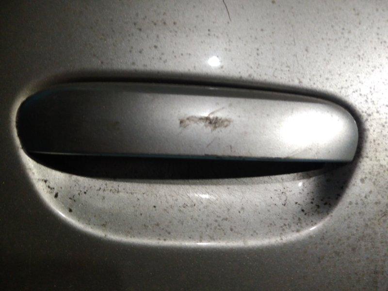 Ручка двери внешняя Mitsubishi Colt Z27A 4G15 2003 задняя правая