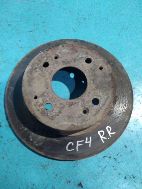 Тормозной диск Honda Accord CF4 F20B 1999г задний