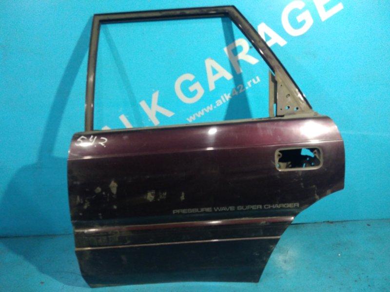 Дверь Mazda Capella Cargo GVFW RF 1994 задняя левая