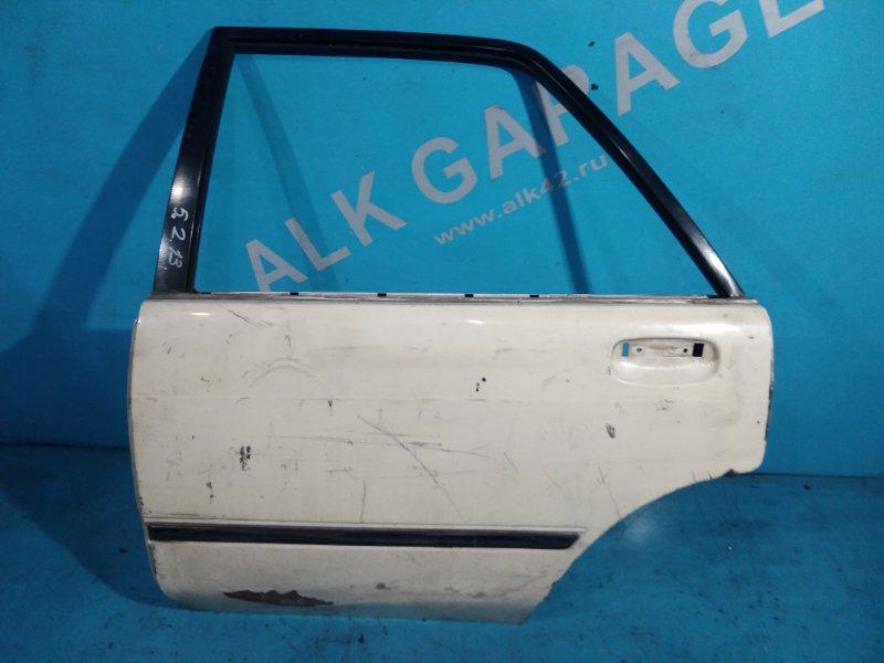 Дверь Toyota Carina AT170 5A-FE 1989г задняя левая