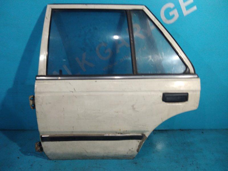 Дверь Nissan Bluebird U11 CA18 задняя левая
