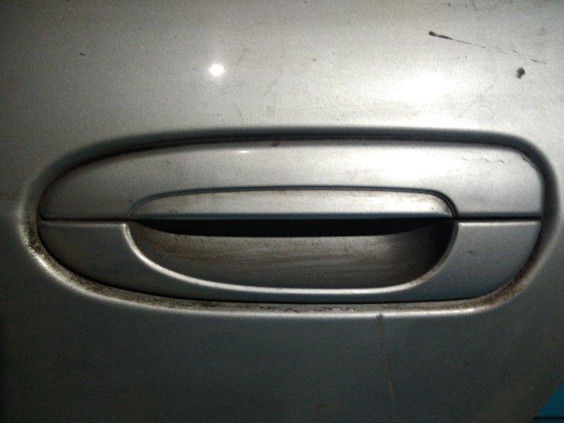 Ручка двери внешняя Mazda Capella GFEP FS 1999 задняя левая