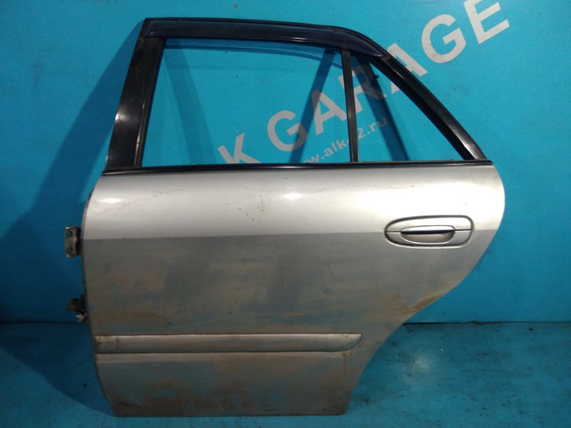 Дверь Mazda Capella GFEP FS 1999 задняя левая