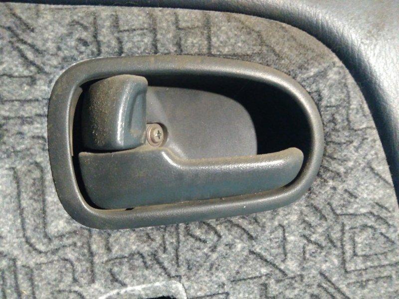 Ручка двери внутренняя Mazda Capella GFEP FS 1999 задняя левая