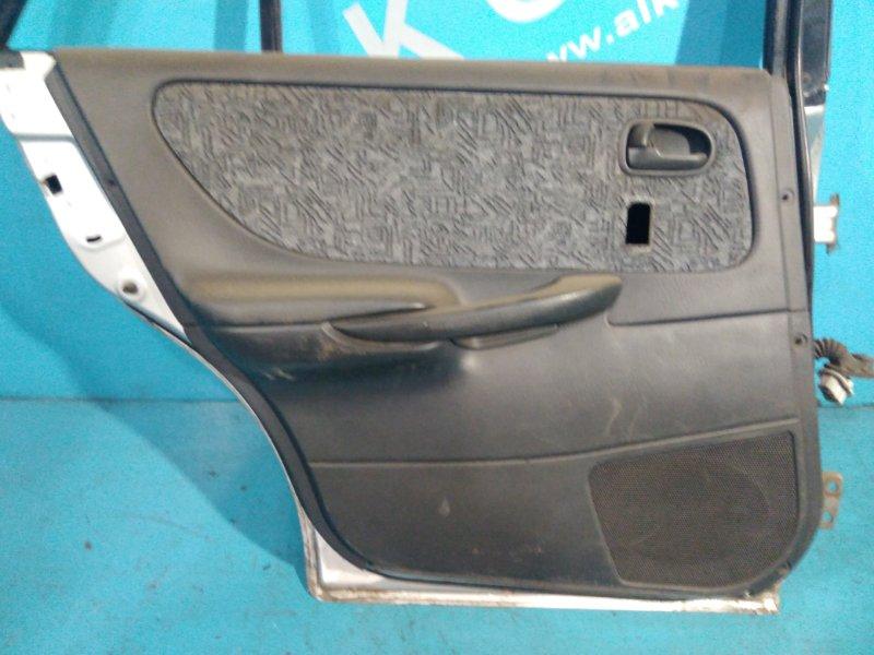 Обшивка двери Mazda Capella GFEP FS 1999 задняя левая