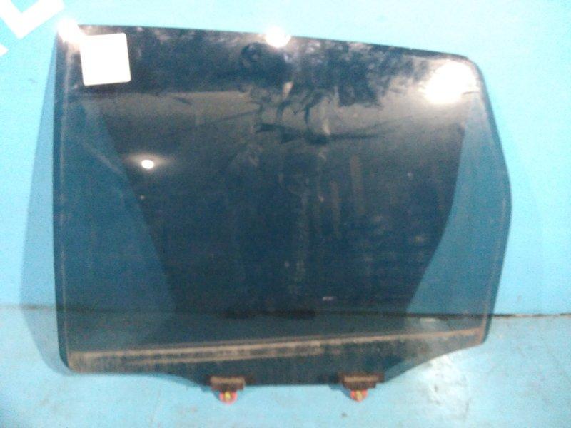 Стекло двери Mitsubishi Colt Z27A 4G15 2003 заднее левое