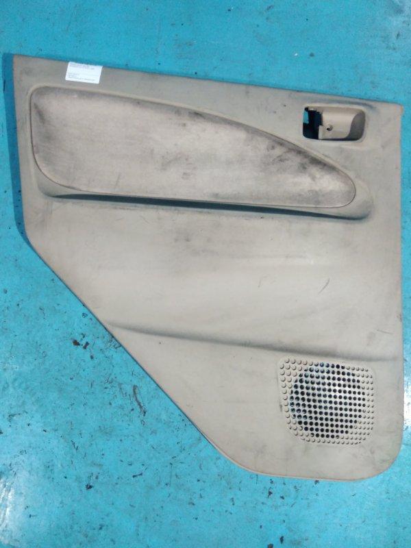 Обшивка двери Mitsubishi Colt Z27A 4G15 2003 задняя левая