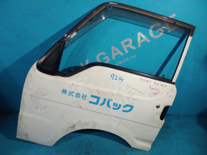 Дверь Mazda Bongo Brawny SD5AT передняя левая