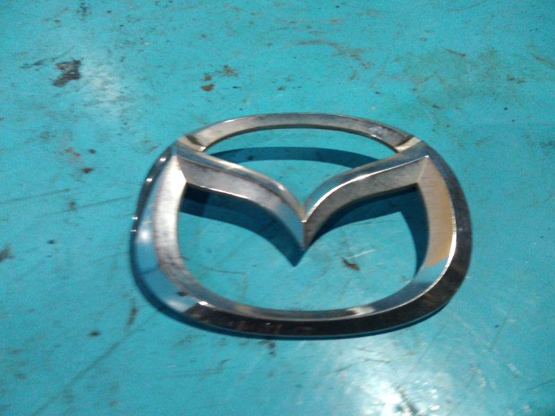 Эмблема Mazda Demio DW3W B3DE 2001г задняя